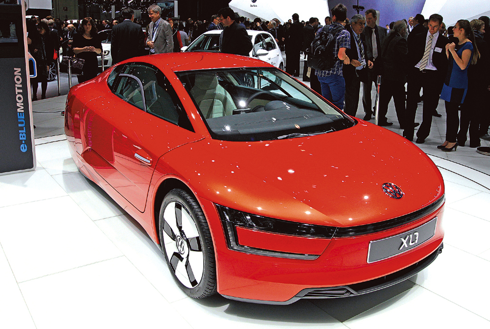 Mobile Zukunft (XVII): Was Werkstoffe heute alles können / Beispiel VW XL-1