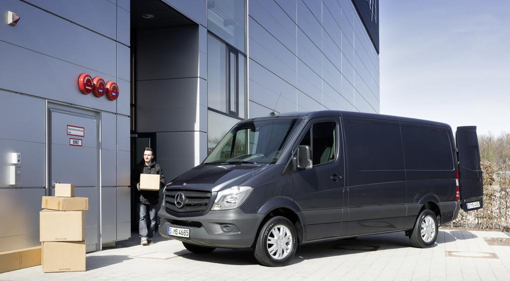 Neuer Mercedes-Benz Sprinter kommt im September