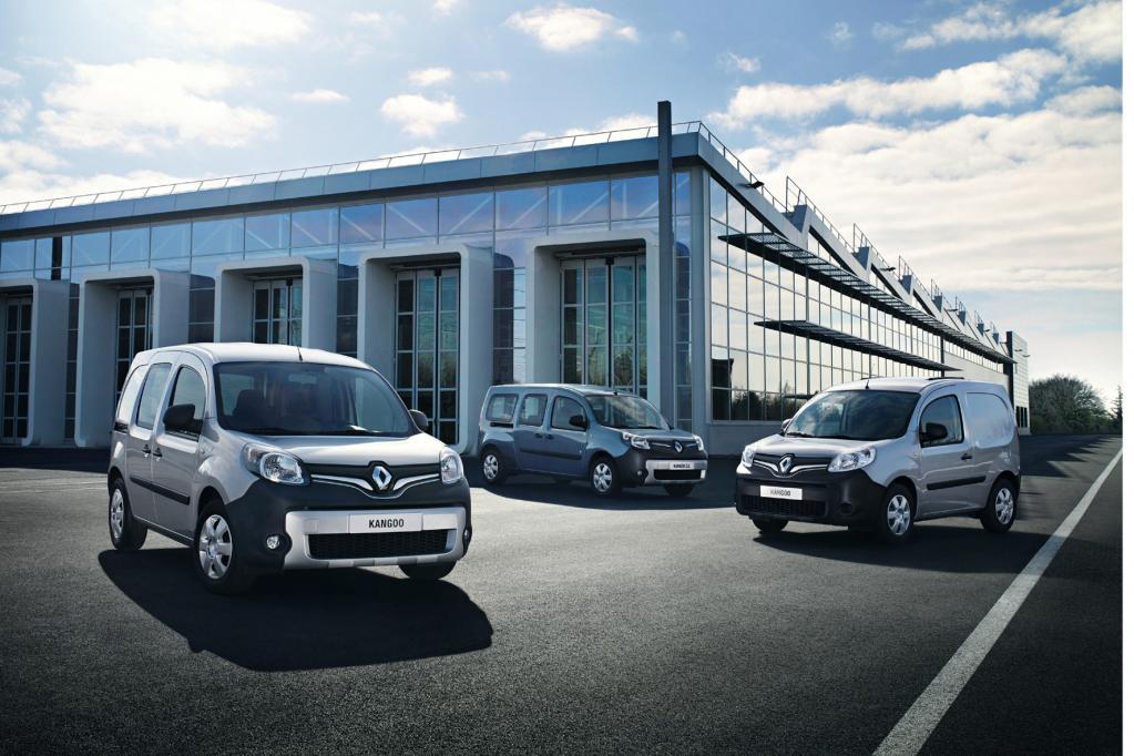 Neues Gesicht beim Renault Kangoo