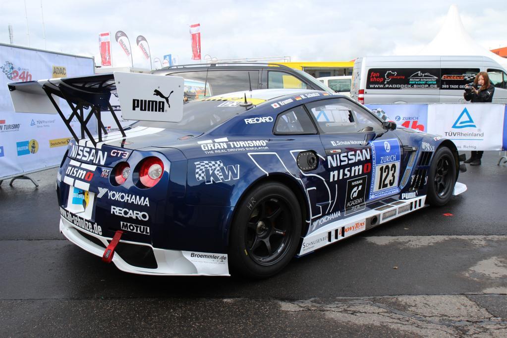 Nissan GT-R als Nismo auf dem Nürburgring