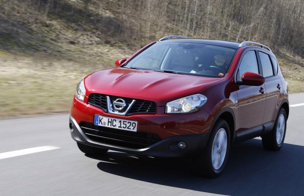 Nissan Qashqai beliebtestes SUV im Flottenmarkt