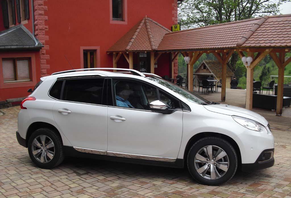 Peugeot 2008: Uns so sieht das Urban-Crossover-Modell von der Seite aus.