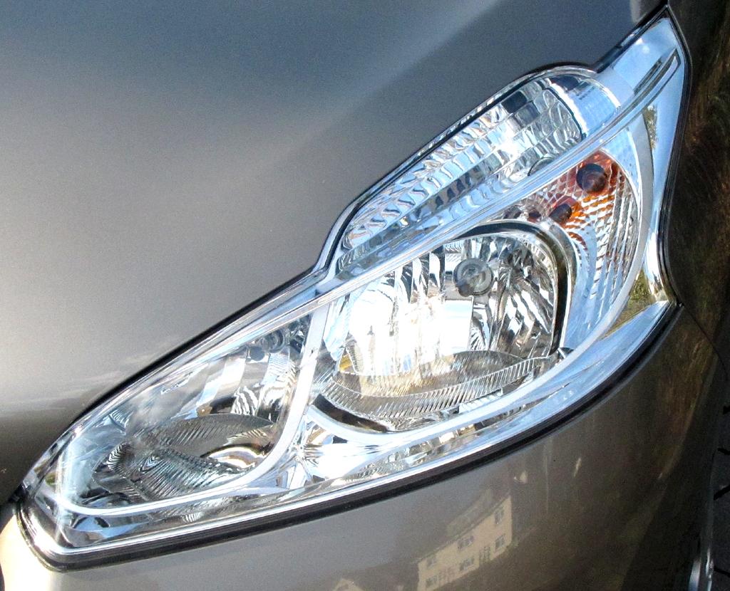 Peugeot 208: Moderne Leuchteinheit vorn.