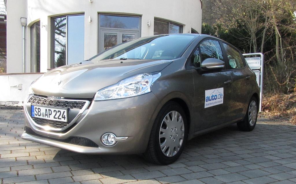 Peugeot 208, hier als Active-Diesel mit 68/92 kW/PS.