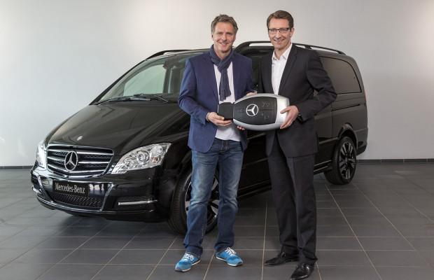 Pilawa Markenbotschafter für den Mercedes-Benz Viano