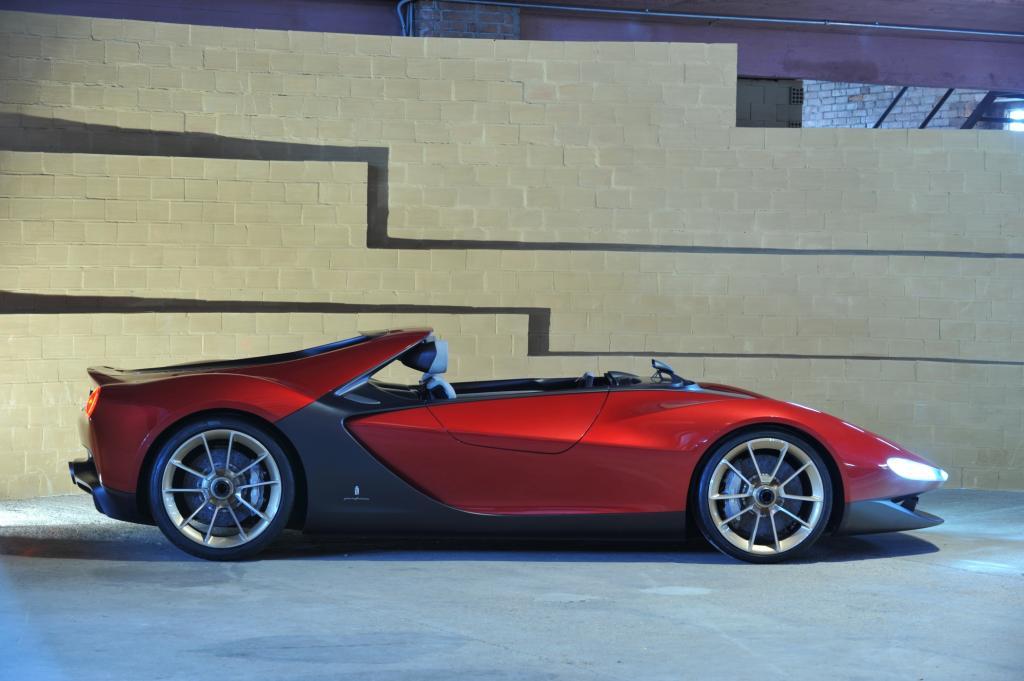"Pininfarina ""Sergio Concept"" - Autokunst aus dem Rechner"