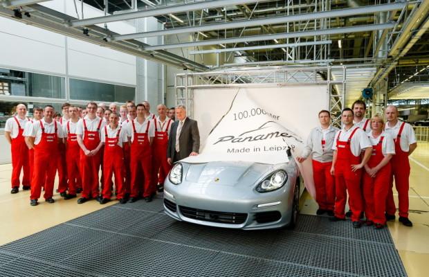 Porsche-Werk Leipzig baut 100 000sten Panamera