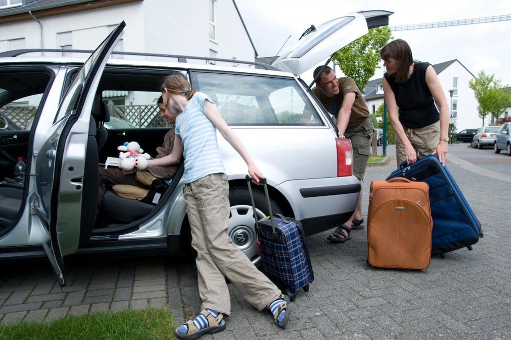 Ratgeber: Das Auto richtig beladen - Gut gepackt - sicher gefahren