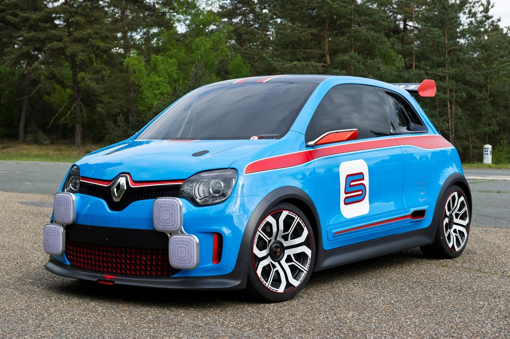 Renault zeigt Studie Twin'Run