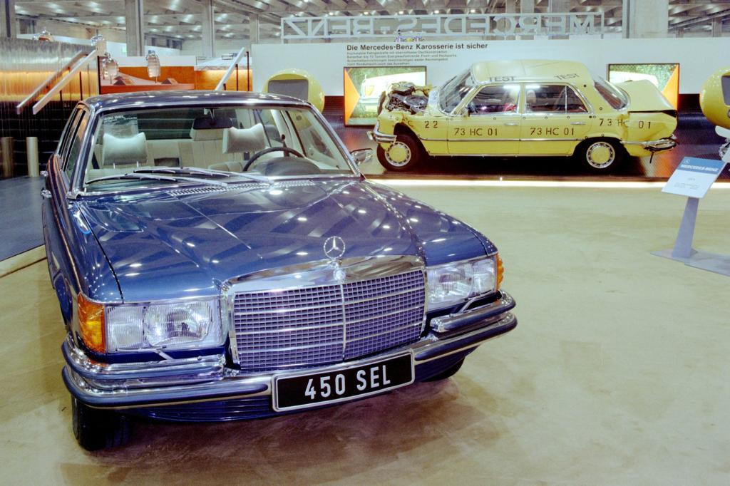 S-Klasse W116 Typ 450 SEL IAA Premiere 1973