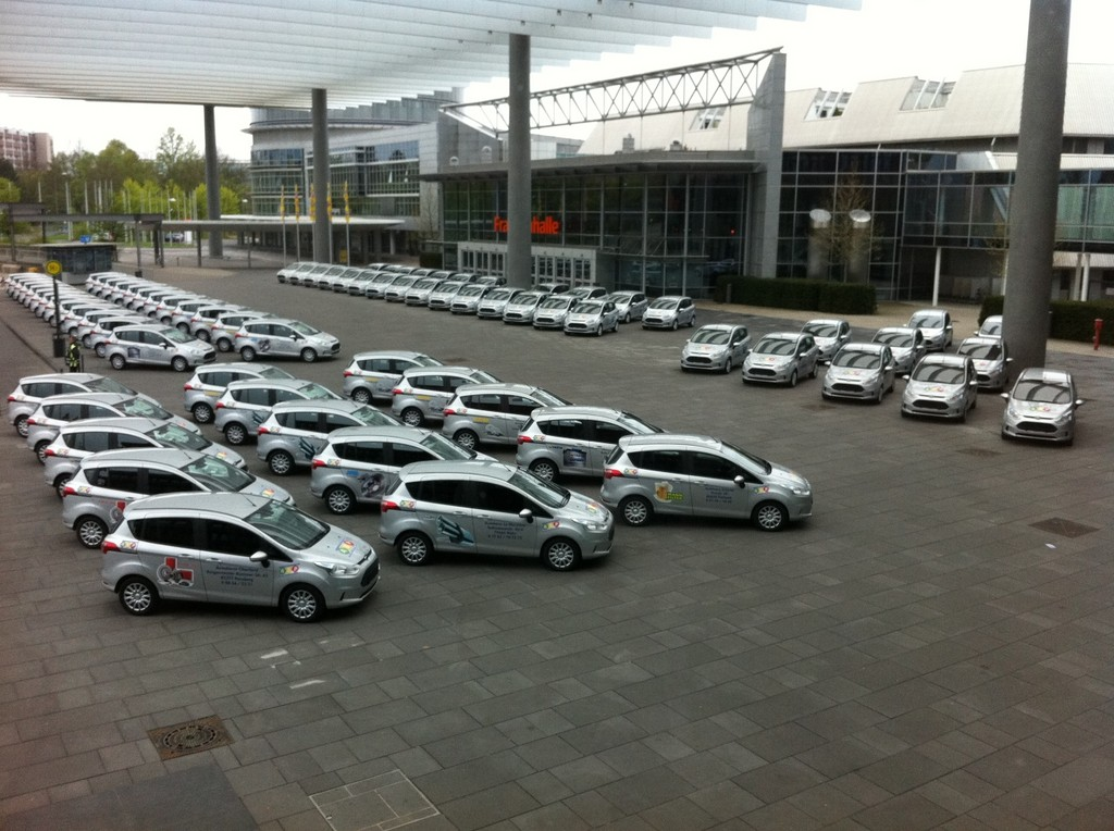 Select AG ordert 100 Ford B-Max