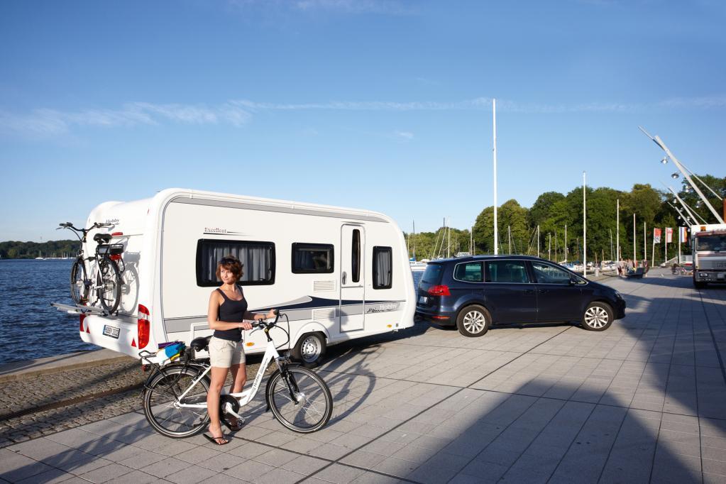 Sicherer Fahrradtransport für Camper