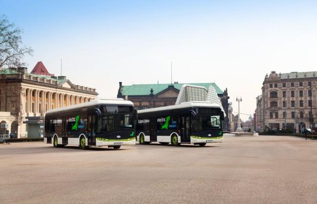 Solaris liefert zwei Elektrobusse nach Düsseldorf