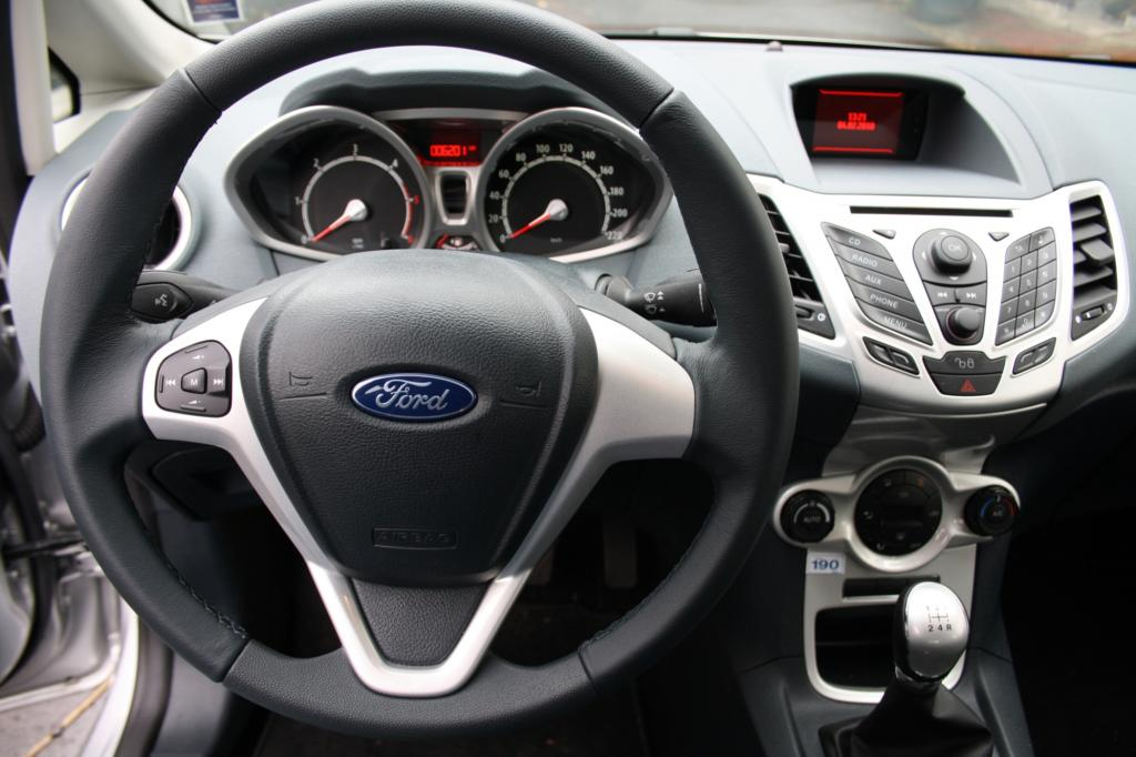 Solide ist auch der Innenraum des seit 2008 gebauten Fiesta-Modells