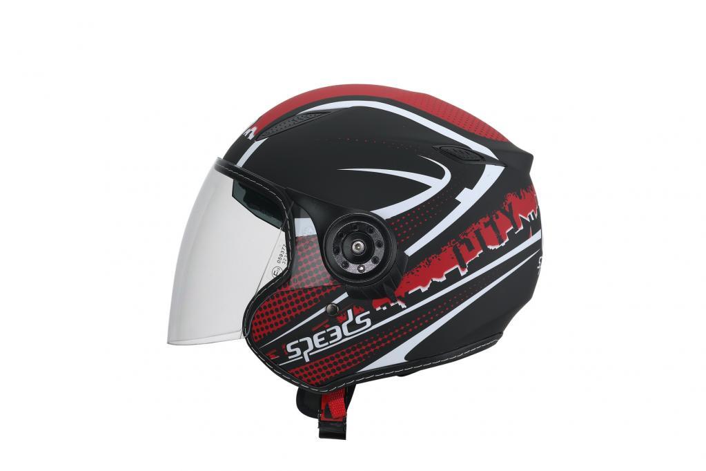 Speeds mit neuem Roller-Helm-Dekor