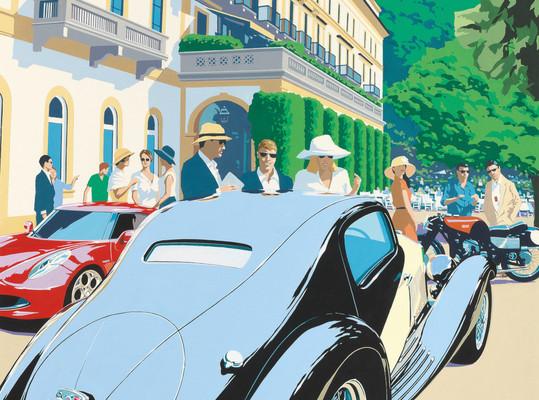 Stelldichein der Klassiker und Concept Cars