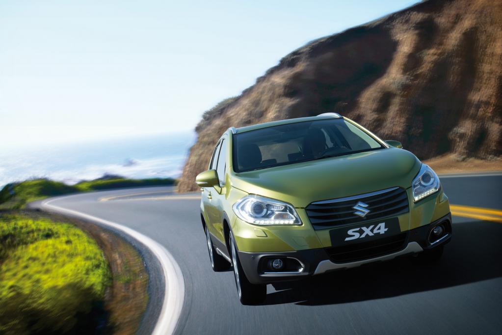 Suzuki SX4: Leichter, größer und sicherer