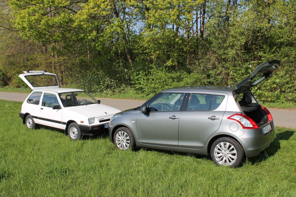 Suzuki Swift Generation 1 und 4
