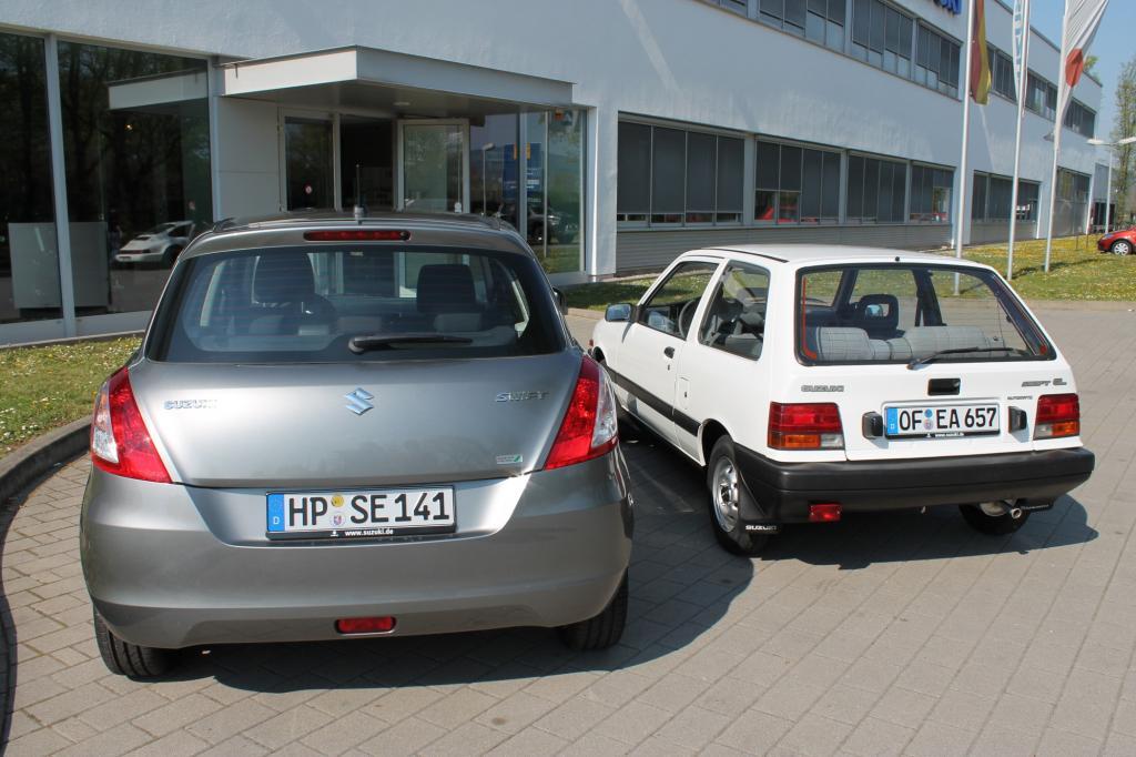 Suzuki Swift Generation1 und 4