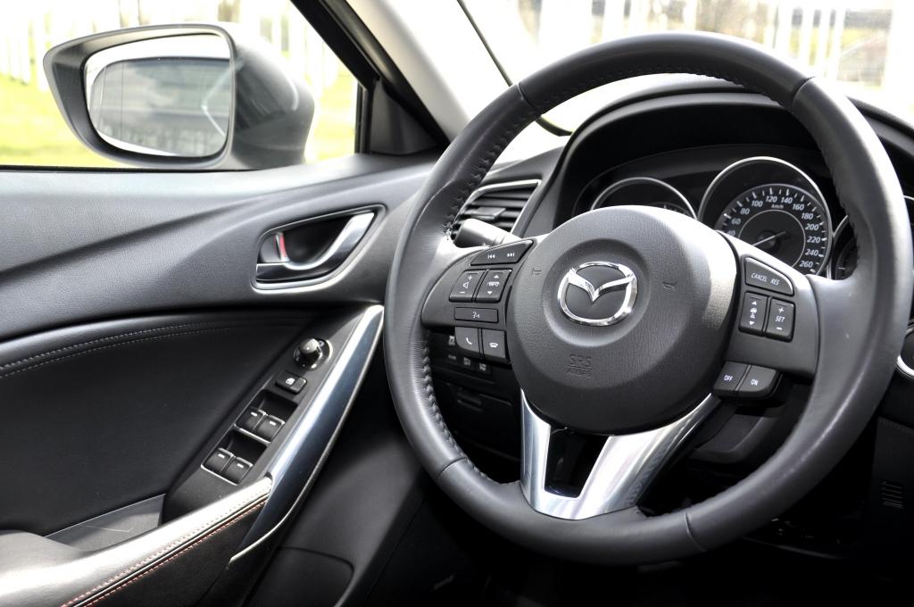 Test Mazda6 2.5 Skyactiv-G Sports-Line: Coupe-Eleganz zum fairen Preis