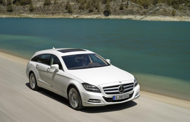 Test: Mercedes CLS Shooting Brake 350 CDI - Platz ist in der schönsten Hütte