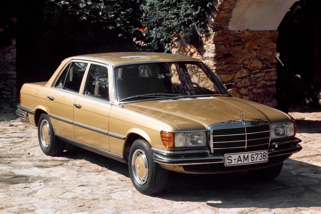 Tradition: 40 Jahre Mercedes-Benz 450 SE/SEL - Chromkreuzer der Sonderklasse