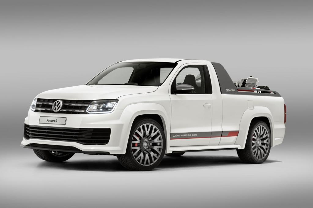 VW Amarok Wörthersee Studie - Muskelspiel mit Pritsche