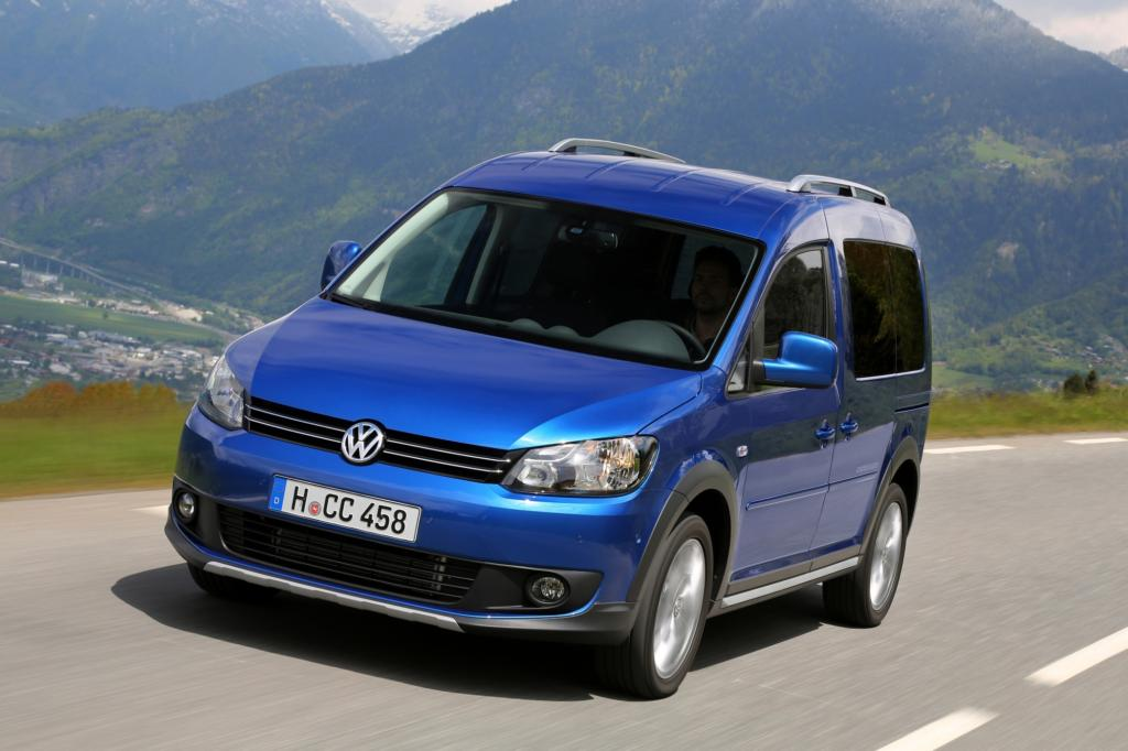 VW Caddy Cross - Fun statt Familie