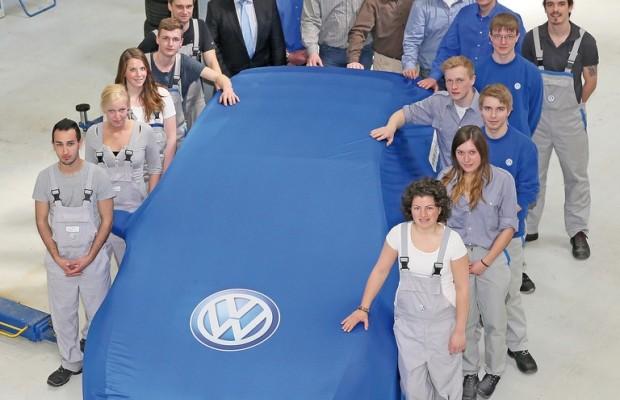 Volkswagen-Auszubildende bauen ihren Traum-GTI