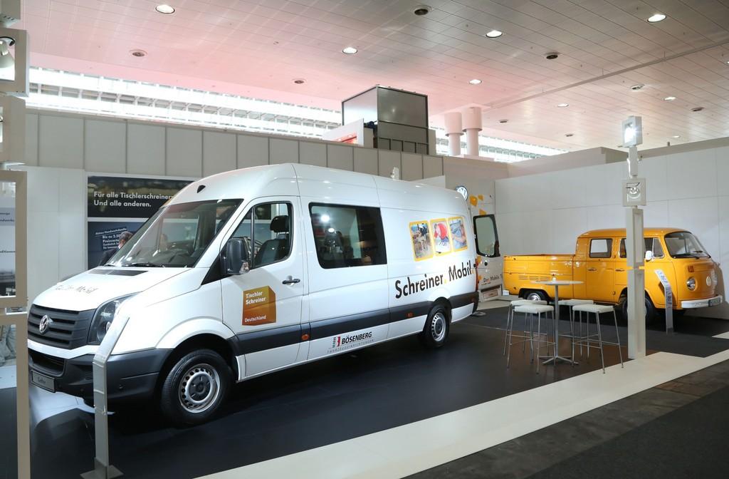 Volkswagen Crafter für Tischler und Schreiner