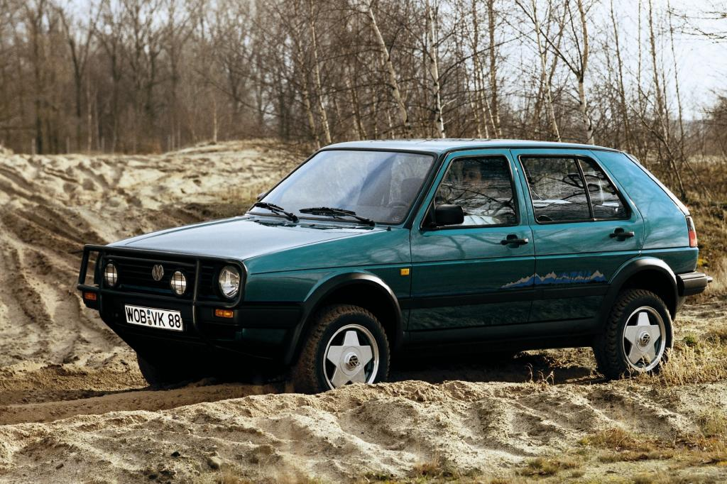 Volkswagen Golf Country ab 1989