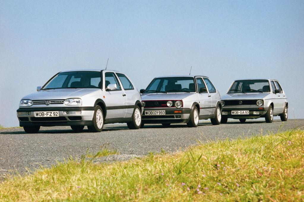 Volkswagen Golf Generationen