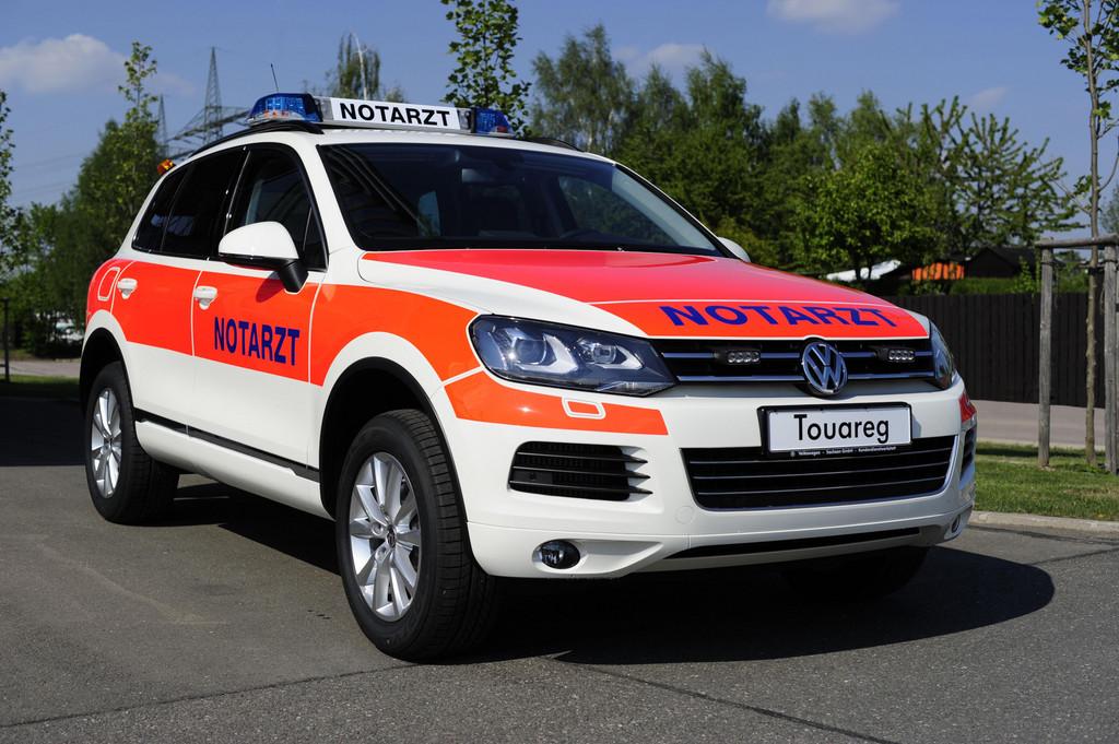 Volkswagen auch Marktführer bei Rettungsfahrzeugen