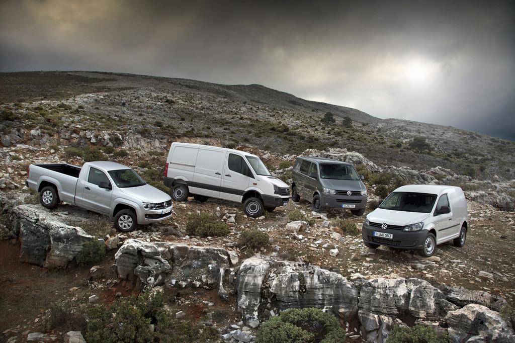 Volkswagen zeigt 45 Fahrzeuge auf der