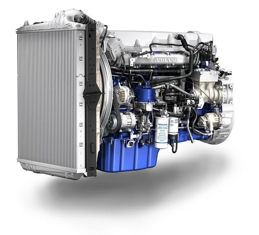 Volvo führt neue Euro-6-Motoren bei Lkw ein