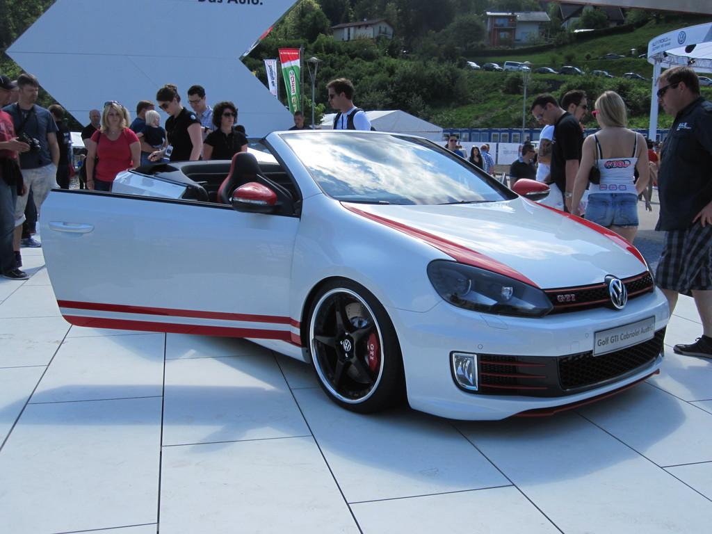 Wörthersee 2013: Auszubildende zeigen GTI Cabrio