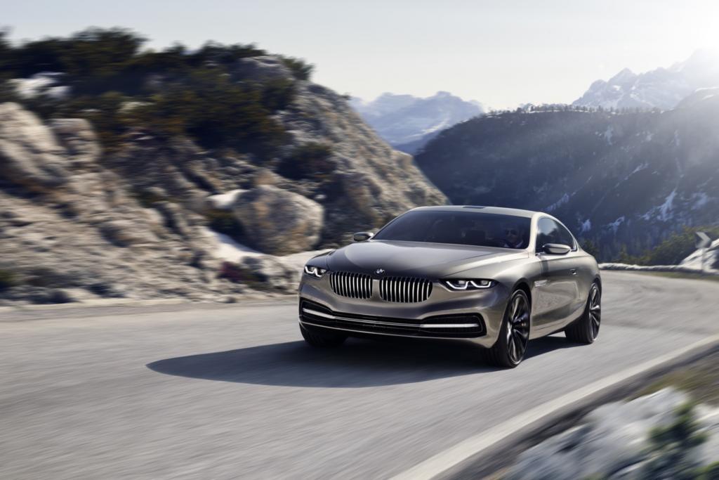 Zusammen mit der Designschmiede Pininfarina entwickelte BMW das Gran Lusso Coupé