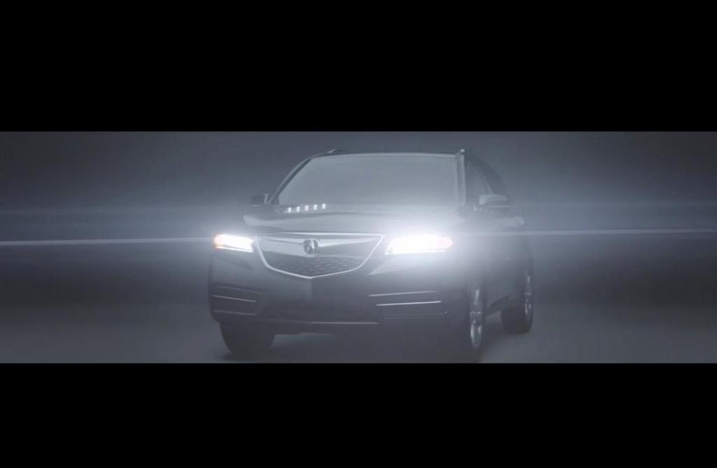 2014 Acura MDX mit teurem Werbespot