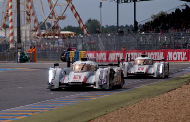 24 Stunden Le Mans: Audi siegreich mit e-tron quattro