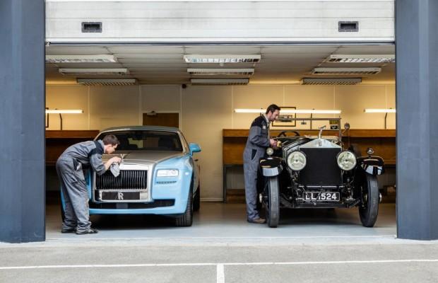 48 Rolls-Royce Silver Ghost auf Alpenfahrt