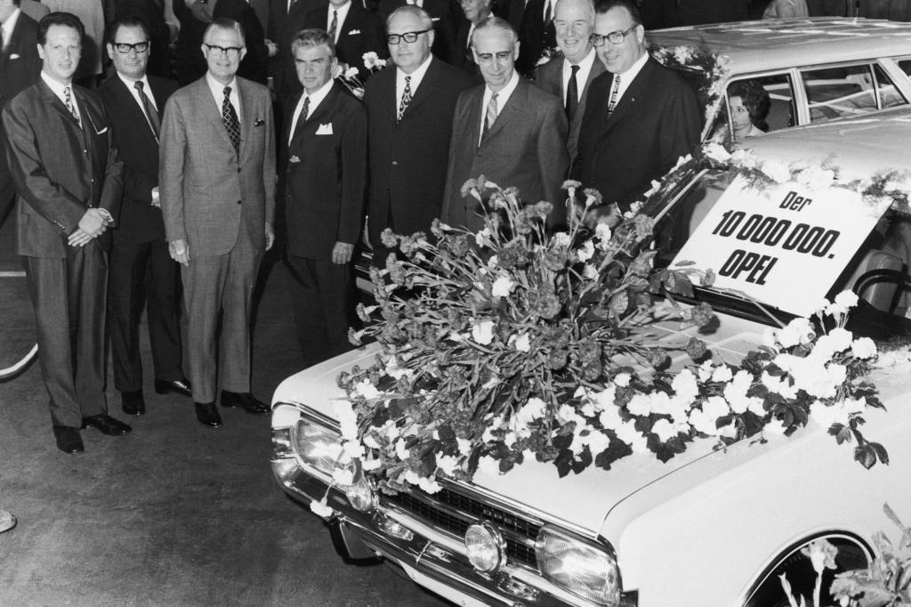 6.September 1971 - Zehn Millionen Opel-Fahrzeuge
