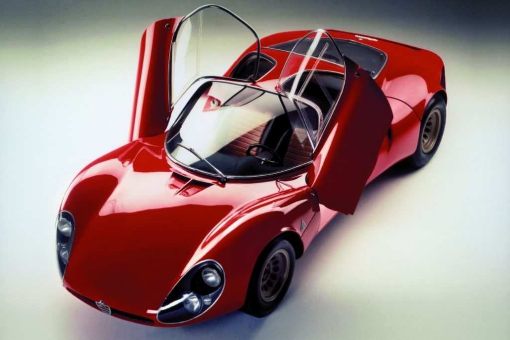 Alfa Romeo 33 Coupe Stradale 1967