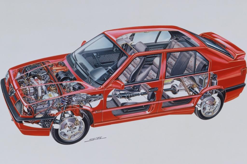 Alfa Romeo Alfa 33 Permanent 4 ab 1991