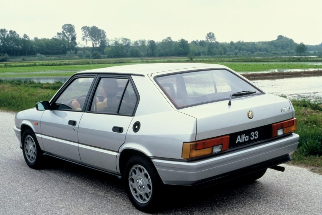 Alfa Romeo Alfa 33 Quadrifoglio Verde 1986