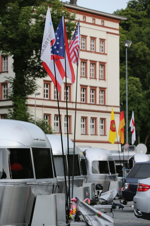 American Beauties: Airstream Europatreffen mit Rekordbeteiligung