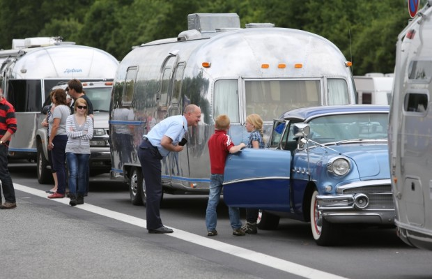 American Beauties: Airstream Europatreffen mit Rekordbeteiligung