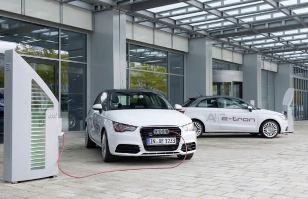 Audi beteiligt sich mit A1 e-tron am »Schaufensterprojekt Elektromobilität«