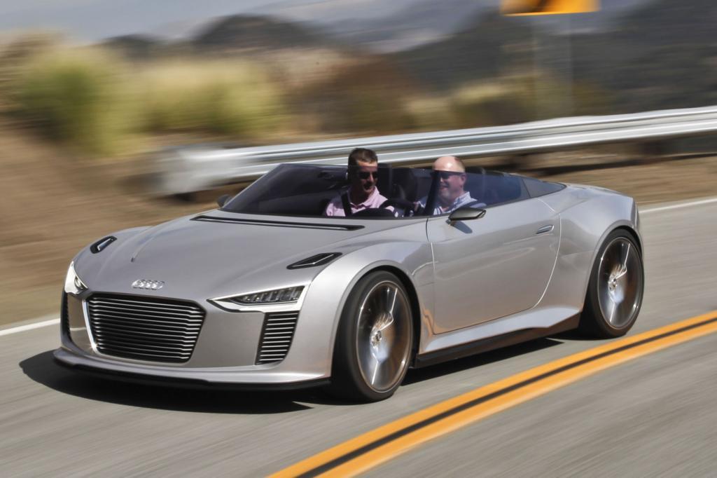 Audis E-Tron Spyder gibt es nicht zu kaufen