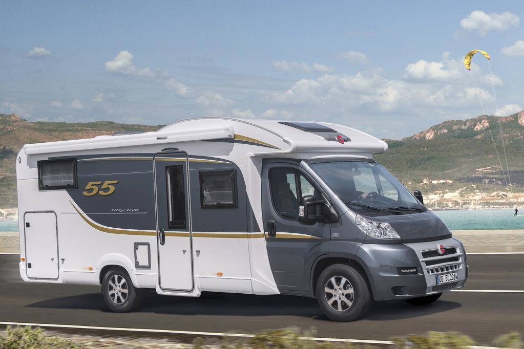 Bürstner feiert 55. Geburtstag mit neuen Reisemobilen
