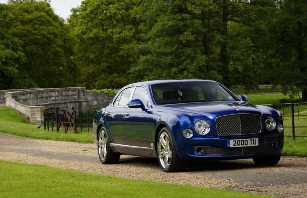 Bentley Mulsanne: Weniger fällt schwer